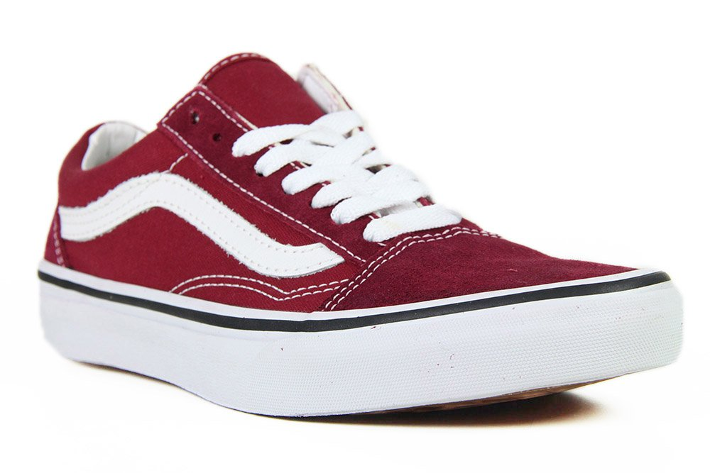 7392778d13da2 Tênis Vans Feminino Old Skool - Red True White - Session Store
