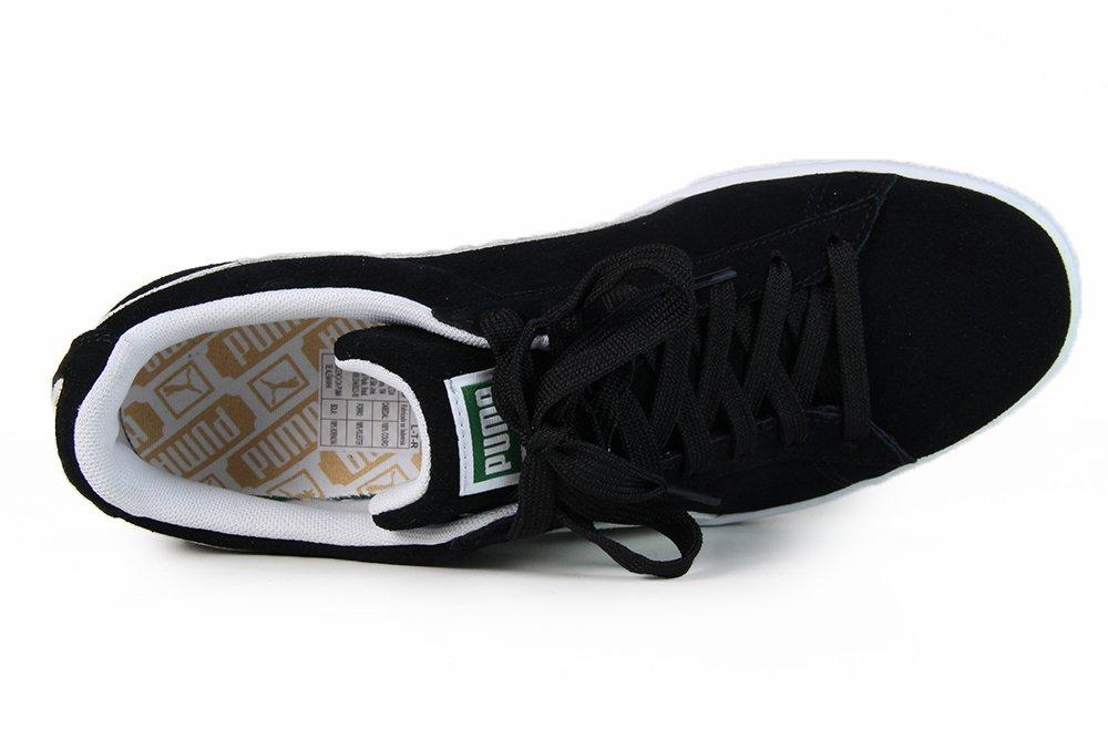 76672e6abf5 Tênis Masculino Puma Suede Classic - Black White - Session Store