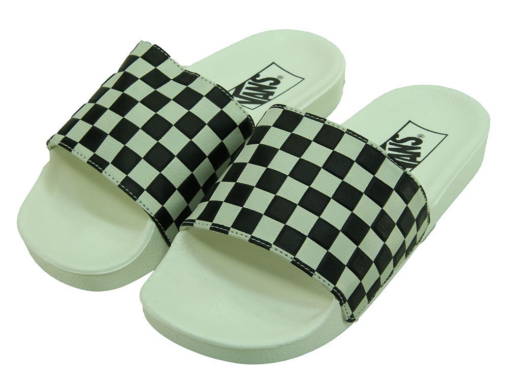2c8cbf043 Chinelo Feminino Vans Slide On - White/Black - Session Store