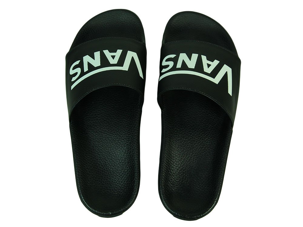 419b60395 Chinelo Masculino Vans Slide On - Preto/Branco - Session Store