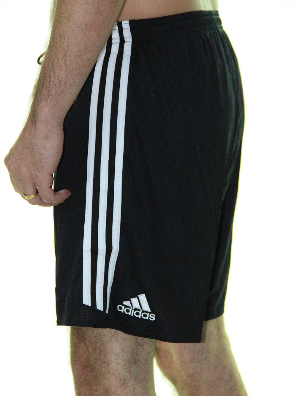 c90e7dc0f ... Bermuda Masculina Adidas Regista Time com Bolsos Laterais - Preto ...