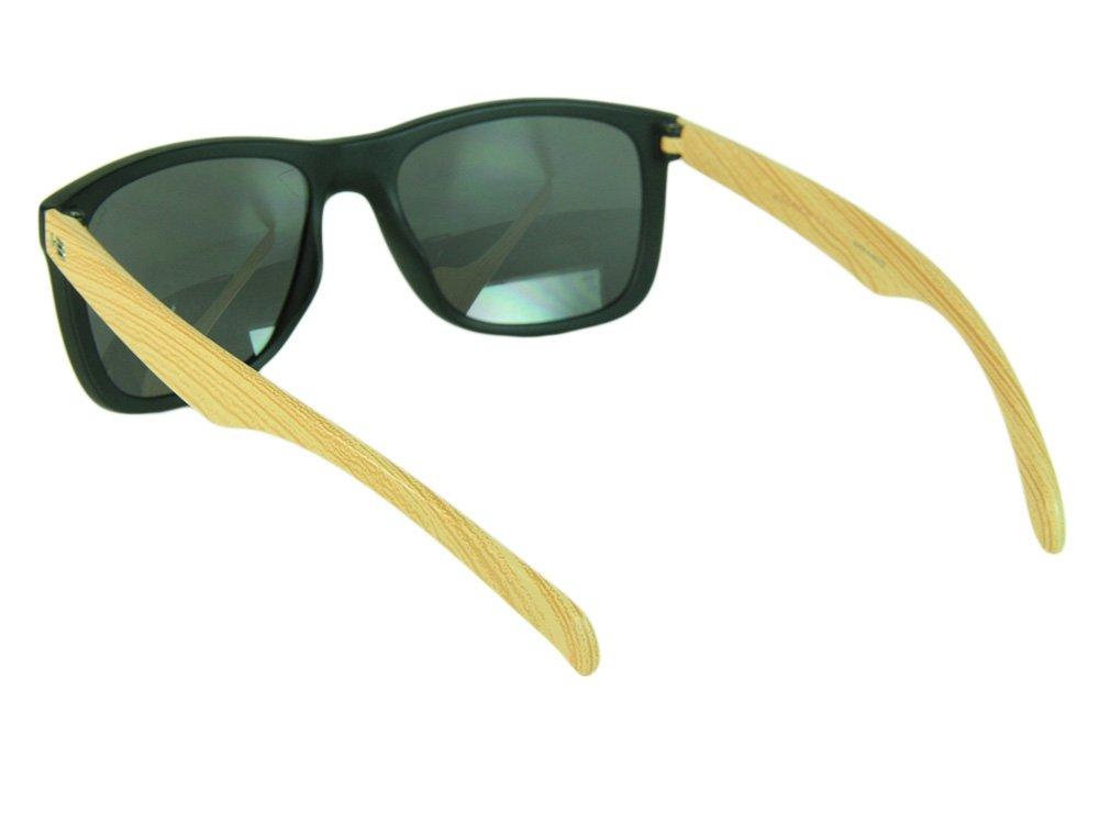4f2b77a57 Óculos HB Ozzie Gray Lenses - Black Matte/Wood .