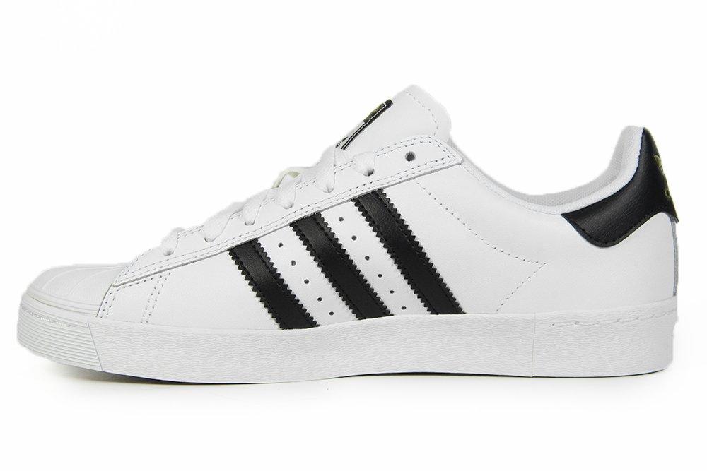 20bbcbe48b5 Tênis Feminino Adidas Superstar Vulc ADV - White Black - Session Store