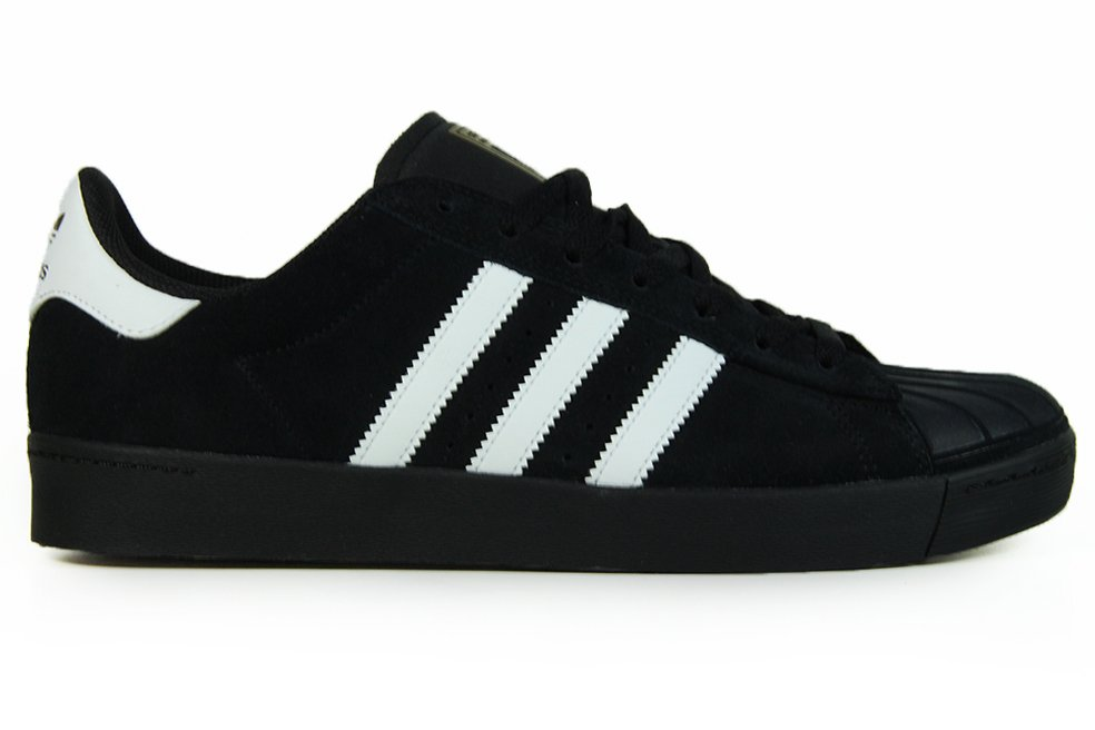 d4758b9b526 Tênis Masculino Adidas Superstar Vulc ADV - Black White - Session Store