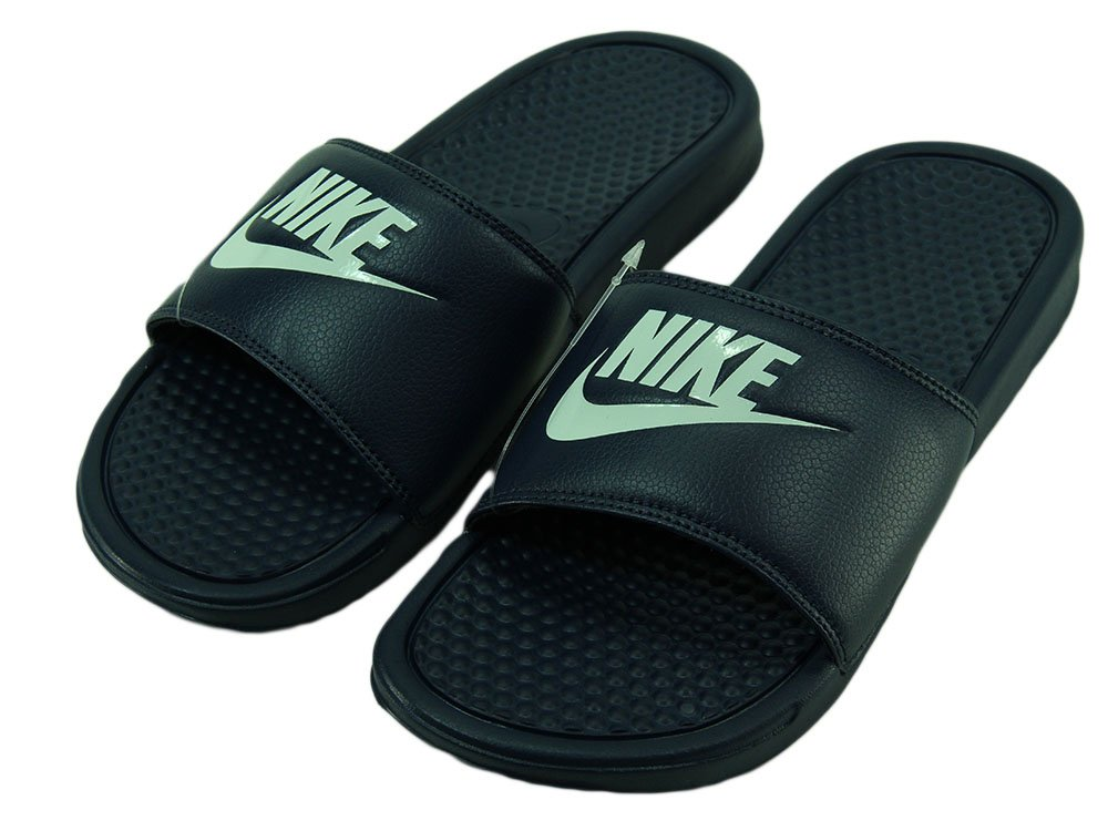 9edc159c0 Chinelo Masculino Nike Benassi Slide - Navy/White - Session Store