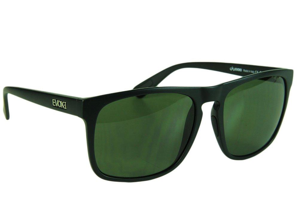 463796f01e7aa Óculos de sol Evoke EVK 18 A02 Gray Lenses - Black Matte Silver ...