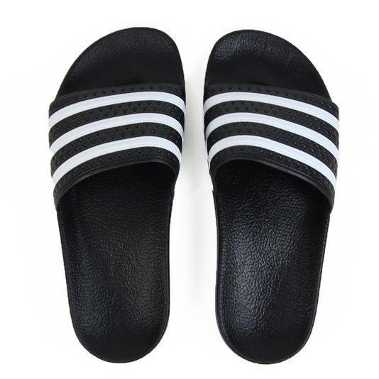 Chinelo Feminino Adidas Adilette - Black