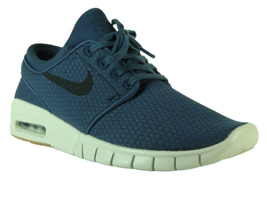 Tênis Masculino Nike Stefan Janoski Max  - Blue/Gray