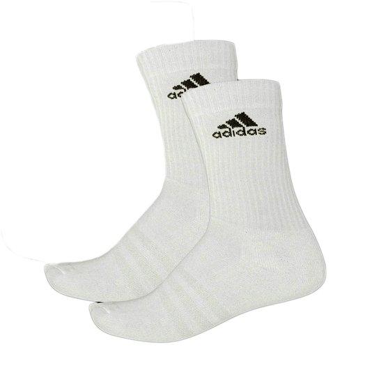 Meia Masculina Adidas Ult Cr Hc 1 Par Cano Médio - Branco