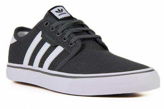 Tênis Masculino Adidas Seeley - Gray/White