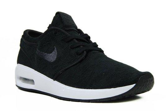 Tênis Masculino Nike Stefan Janoski Air Max - Black/White