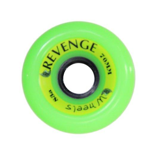 Roda Longboard Revenge 70mm 83A - Verde