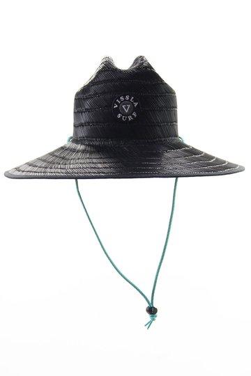 Chapéu de Palha Vissla Lifeguard Hat - Preto