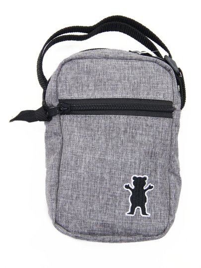 Shoulder Bag Grizzly Bag Bear Classic - Cinza Mesclado