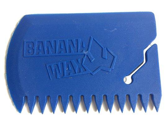 Raspador Medio Parafina Azul Banana Wax para Prancha  de Surf - Azul