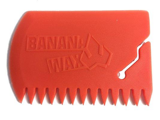 Raspador Medio Parafina Laranja Banana Wax para Prancha  de Surf - Laranja