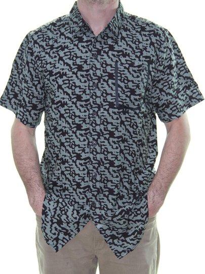 Camisa Masculina New Era Camo Rev All de Botão - Camuflado