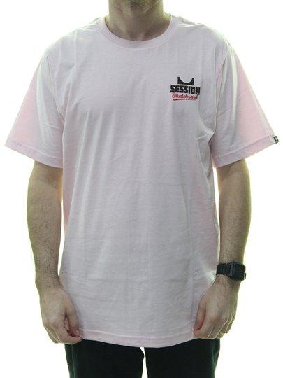 Camiseta Masculina Session Mini Ramp Estampada Manga Curta - Rosa