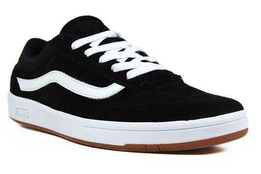 Tênis Masculino Vans Cruze - Black/White