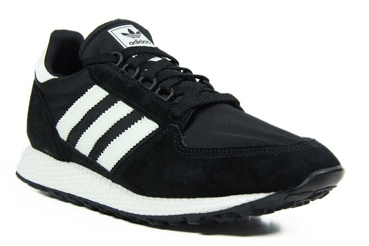 Tênis Feminino Adidas Forest Grove - Black White