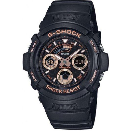 Relógio G-Shock AW-591GBX-1A4DR Analógico - Preto/Bronze
