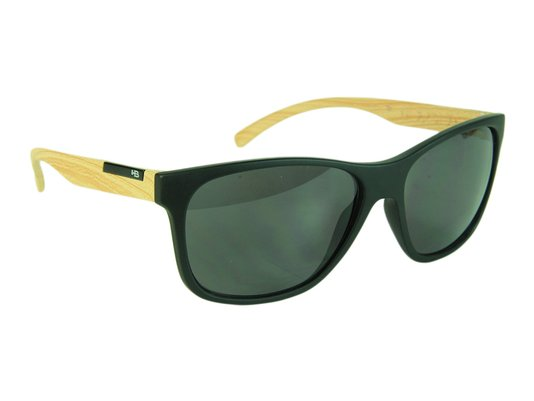 Óculos HB H-Bomb Uderground Gray Lenses - Black Matte/Wood