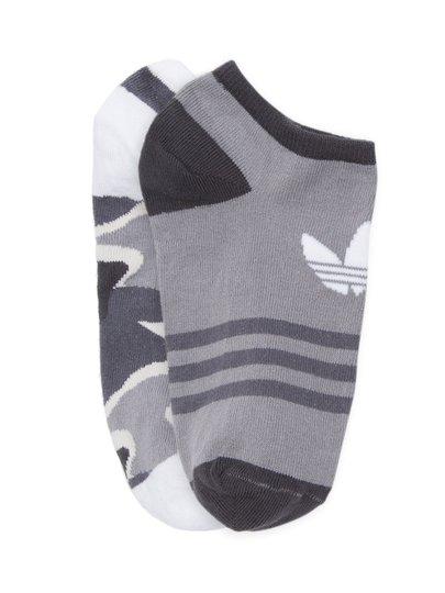 Meia Masculina Adidas Tref Liner com 2 Pares Cano Baixo  - Camuflado