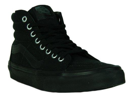 Tênis Feminino Vans Sk8 Hi Mono Cano Longo - Black/Black