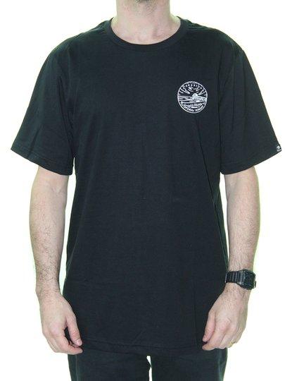 Camiseta Masculina Session Plata Norte Estampada Manga Curta - Preto