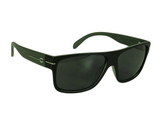 Óculos HB Would Gray Lenses UV Protection - Black/Army