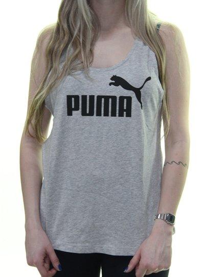 Regata Feminina Puma Essentials Tank - Cinza Mesclado