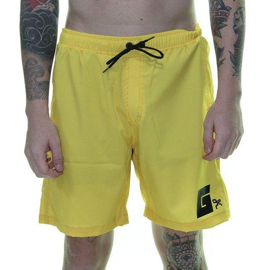 Bermuda Masculina Grow Yellow G - Amarelo Queimado