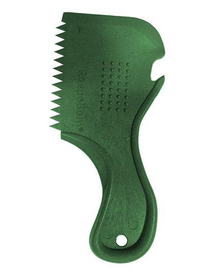 Raspador de Parafina para Prancha de Surf Raspe Bem Ecologico - Verde Escuro