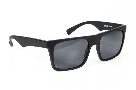 Óculos de Sol Evoke EVK 22 A11S Gray Lenses - Black Matte