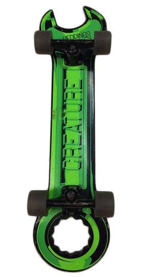 Longboard Creature Wrench Verde Formato Chave de Boca