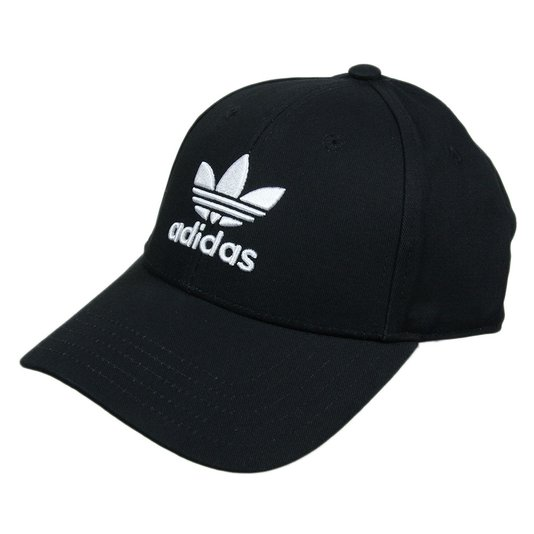 Boné Adidas Baseball Aba Reta - Preto
