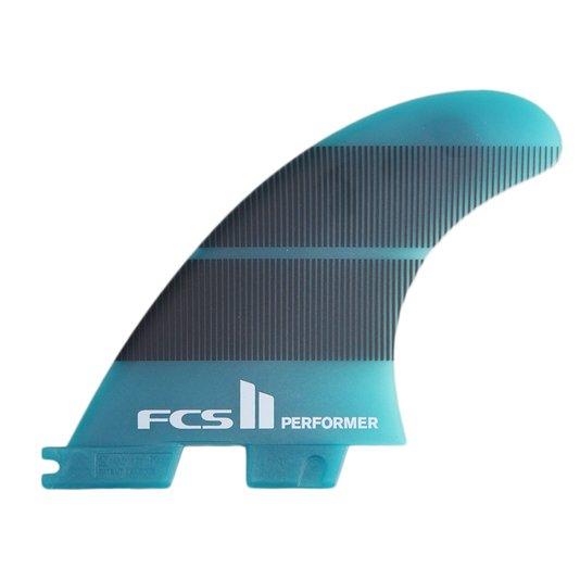 Quilha para Prancha de Surf FCS Performer Neo Glass Tri Quilha - Azul/Preto