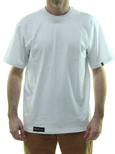 Camiseta Unissex Santo Swell Basiquinha Classica Manga Curta  White /White  - Branco/Branco