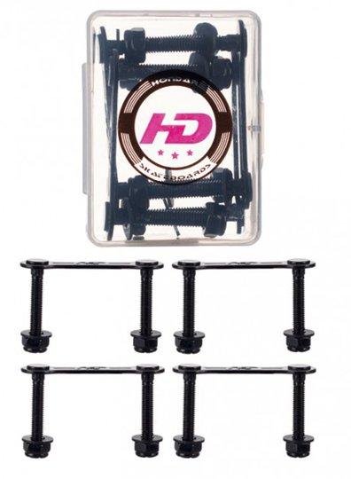 Parafusos Especiais para Longboards Hondar - Preto