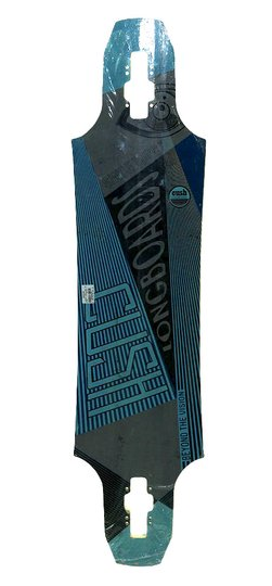 "Shape Longboard Cush Beyond The Vision 9.25"" por 8.75' - Azul/Cinza"