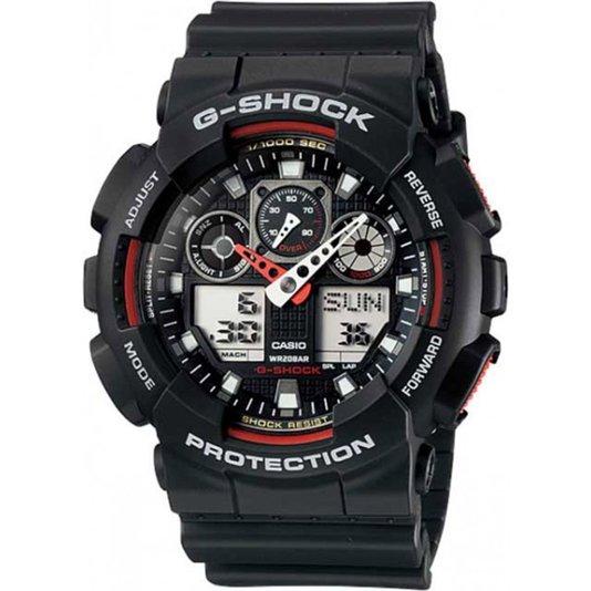 Relógio G-Shock GA-100-1A4DR - Preto
