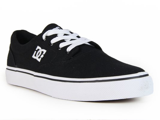 Tênis Masculino DC New Flash 2 Tx - Black/White
