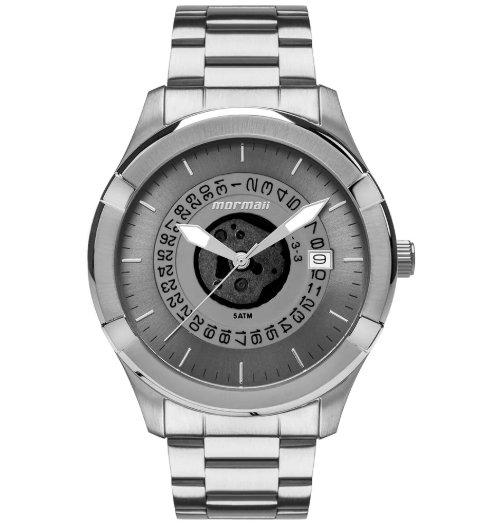 Relógio Mormaii MO2415AD/1A Analogico - Prata