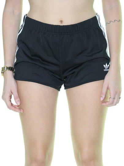 Shorts Feminino Adidas 3 Str - Preto
