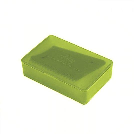 Porta Parafina SDA Com Raspador - Amarelo