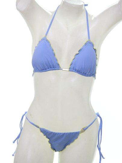 Biquini Rip Curl Coconut Tri Ice Flow - Azul/Amarelo
