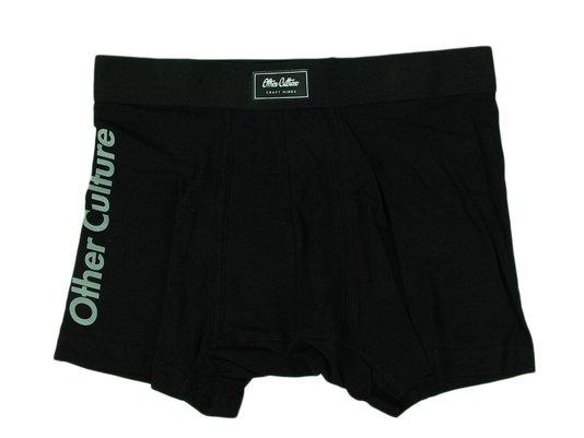 Cueca Culture Black Boxer - Preto