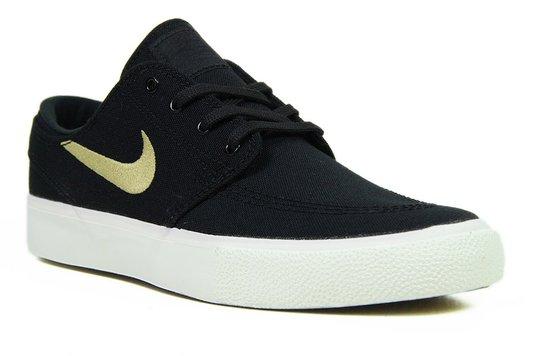 Tênis Feminino Nike SB Zoom Janoski Air Max - Black/White