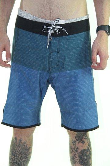 Bermuda Masculina para Banho Volcom Lido Scallop - Azul Marinho