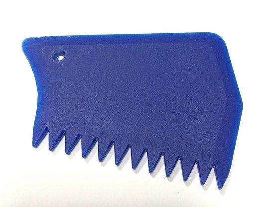 Raspador de Parafina para Prancha de Surf - Azul